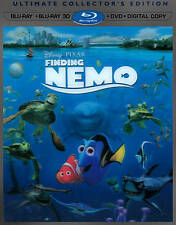Finding Nemo 3D, Blu-ray/Dvd, 4 Disc Set, No Digital Copy, Disney, Free Shipping