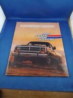 1986 DODGE RAM PICK UP TRUCKS SALES BROCHURE ROYAL CUSTOM SPORT ADVERTISING