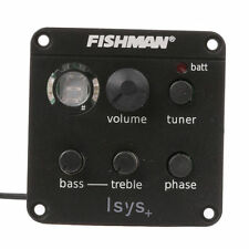 FISHMAN ISYS+ ACOUSTIC GUITAR PICKUP ONBOARD PREAMPS EQ New USA SHIPPING