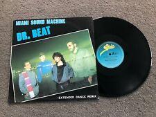 "MIAMI SOUND MACHINE DR. BEAT 1984 AUSTRALIAN RELEASE 12"""