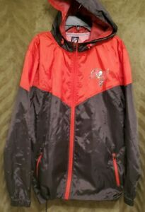 NFL Tampa Bay Buccaneers Windbreaker with Hood Size Small  $105