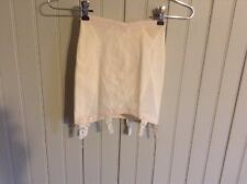 nwot Classic Vintage warners 638 open bottom girdle w/ 6 garters  size small