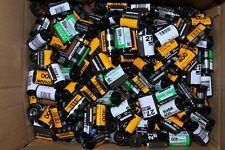 5 Pounds Assorted 35mm film canisters cans cassettes cartridges Kodak Fuji