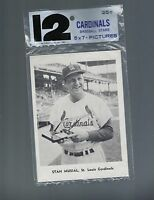1961 TEAM PACK JAY PUBLISHING ST. LOUIS CARDINALS MINT W/STAN MUSIAL