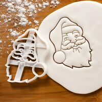 Santa Claus Face cookie cutter | Merry Christmas xmas biscuit sugar cookies