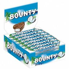 (1000g=7,30€) Bounty - Schokoriegel Kokos Schokolade - 24 Riegel