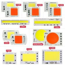 High Power LED cob smd Chip lamp bulbs10W20W30W50W100W Input Integrated Smart IC