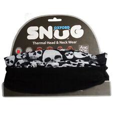 Oxford Snug Thermal Motorcycle Neck Tube Warmer Face Mask Balaclava - Skulls