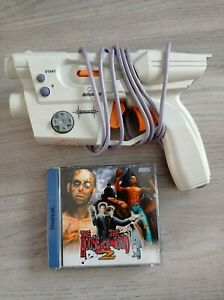 House Of The Dead 2 & Lightgun Sega Dreamcast