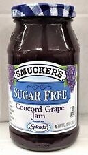 Smucker's Sugar Free Concord Grape Jam 12.75 oz Smuckers