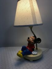 Vintage Mickey Mouse Lamp Dolly Toy Co 1980s