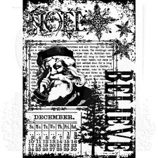 Tim Holtz Christmas Miracle Cling Mount Stamp  ::  Stampers Anonymous