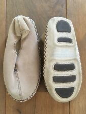 White Company Childrens Suede Slippers