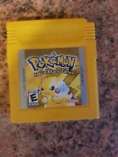 Pokémon Amarillo Cartucho Gameboy