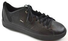 Geox Herren Leder Sneakers Schwarz Gr.42