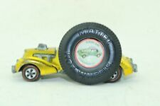 Hot Wheels Redline 1969 Classic Cord - with button Yellow or Gold!
