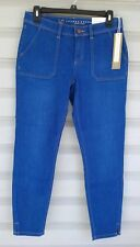 NWT! Lauren Conrad SKINNY cargo ANKLE jeans RETRO REFRESH True Blue ~ SIZE: 2, 4
