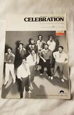 CELEBRATION Sheet Music Vintage Guitar Song Kool & The Gang 1980 Vocals Dance