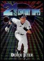 2001 Topps Chrome 21st Century Derek Jeter Yankees #C3 *Noles2148* 10=FreeShip
