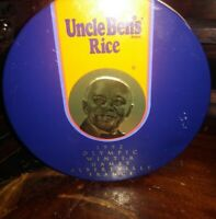 Vintage Uncle Ben's Limited Edition 1992 Winter Olympics Tin