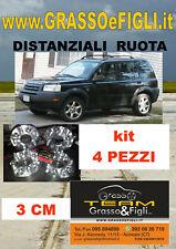 KIT 4 Distanziali Ruota For Land Rover FreeLander I  1 1997>2006  30 mm