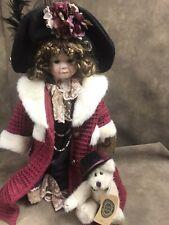 Boyd'S Bear Ceramic Doll Yesterdays Child Amy And Edwin