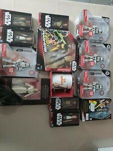 Lot 12 figurine star Wars black séries Disney toyboy hasbro + mug