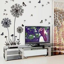 Dandelion Flowers Wall Stickers Home Bedroom Living Room Decoration Stickers