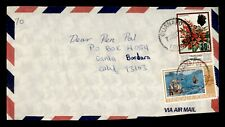 DR WHO 1979 TRINIDAD GUANAPO AIRMAIL TO USA  g42278
