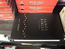 biblias reina valera 1960 Letra Grande vynil 12 Puntos Manual con concordancia