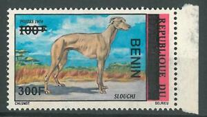Benin 2008 MNH - Sloughi Dog Animal ovptd 300F - cv 116$