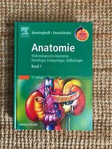 Benninghoff, A:  Anatomie 1 - 17. Auflage _ Online-Code unberührt