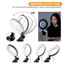 Remote Working Home Video Conference Lighting Kit Ring Shaped For Laptop Makeup