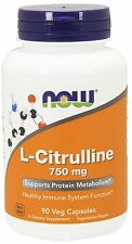 Now Foods - L-Citrulline, 750 mg, 90 Capsules