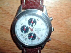 Rare BULOVA Chronometer / Tachymeter Marine Star 100M Men's  🚚 FAST & FREE