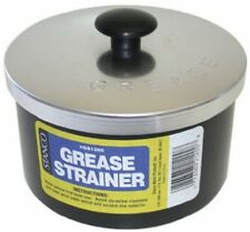 New Strainer Storage Reuse Container Frying Cooking Oil Nonstick Bacon Grease