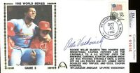 Pete Vuckovich Jsa Authenticated Signed 1982 World Series Fdc Autograph