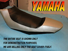 Yamaha RX1 2003-05 New seat cover RX 1  snowmobile  Silver and black 900D