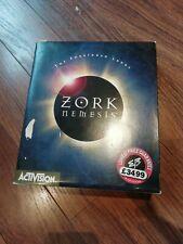 Zork Nemesis 3 CD Caja Grande-Vintage Juego de PC