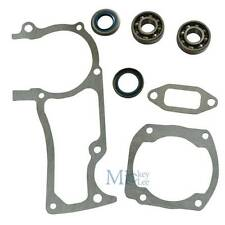 Muffler Cylinder Gasket Crankshaft Oil Seals Fit Husqvarna 362 365 371 372 372XP