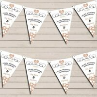 Hearts Flag Banner Garland Pearl 30th Wedding Anniversary Bunting Garland