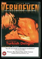 RUTGER HAUER TURKISH DELIGHT TURKS FRUIT VERY RARE 2002 LONG OUT OF PRINT DVD