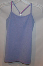 IVIVVA BY LULULEMON GIRL'S Y TANK TOP SIZE 10 BLUE