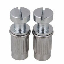 CHROME STUDS FOR ELECTRIC GUITAR BRIDGE OR TAILPIECE