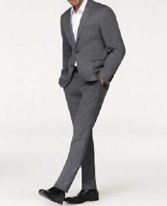 bruno banani Anzug 2 teilig Jacke Hose Jacket Sakko NEU grau Business festlich