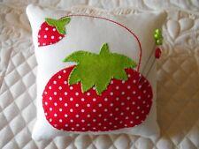 Tomato Pincushion Sewing Notion Country Farmhouse Ornie