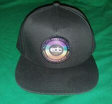 6a3a861e1f3d9 NEW 2018 EDC HAT ELECTRIC DAISY CARNIVAL INSOMNIAC BLACK ADJUSTABLE CAP