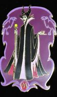 Disney Auctions P.I.N.S. Pin LE 1000 Lot 96 Maleficent Aurora Sleeping Beauty