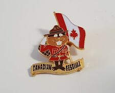 Canada Festival Lapel Hat Collectible Pin Royal Canadian Mounted Police