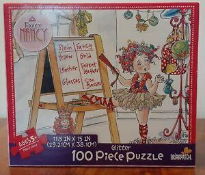 Fancy Nancy  Glitter 100 Piece Puzzle
